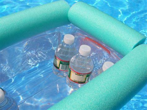 diy floating cooler simple pool noodle floating cooler diy pool noodles