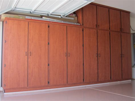 Garage Storage Cabinets Garage Cabinets Make Your Garage Look Neater Designwalls