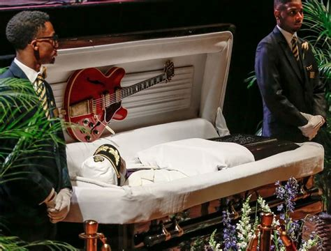 Maserati Rick Coffin by Chuck Berry Fans Pay Their Respects To The Johnny B