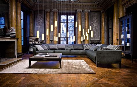 inspirational rooms living room inspiration 120 modern sofas by roche bobois