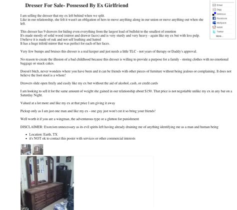 these post breakup craigslist ads are the definition of