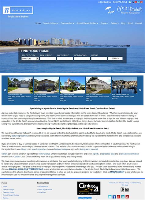 Nordstrom Gets A Website Upgrade by Buyandrentmyrtlebeach Gets A Website Upgrade