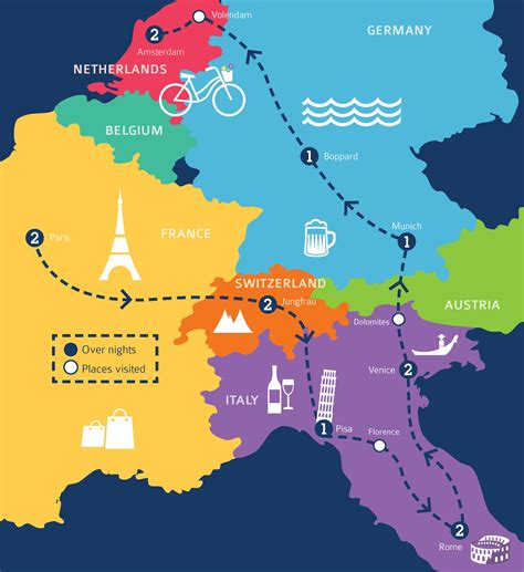 amsterdam netherlands map europe may european tour packages coach inclusive deals 2017