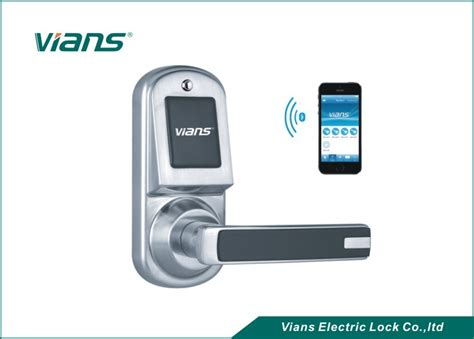 Wifi Front Door Lock Safety Bluetooth Wireless Front Door Lock Smartphone Controlled Door Lock