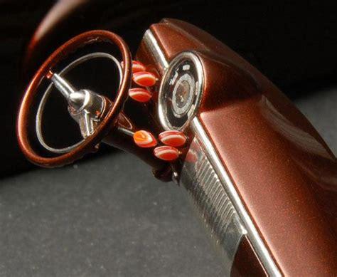 creating laminated dash knobs in scale custom car