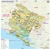 Mapas De Montenegro  Gu&237a Turismo