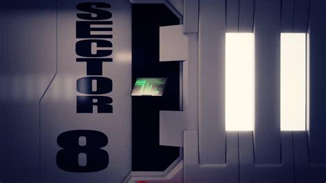 futuristic doors 02100 futuristic spaceship door opening and slowly
