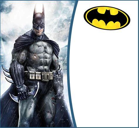 free batman invitation template batman free printable invitation templates