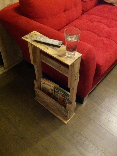 diy pallet side tables  tables  pallets