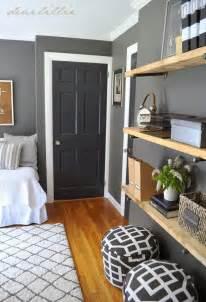 gray walls white trim similar color scheme in my home dark gray walls white