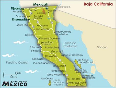 map of tijuana baja california baja california norte producto innovador tecnologico y
