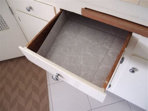 How To Line Drawers by Vinyl Tiles In Kitchen Drawers Help I Kitchen And