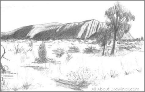 Landscape Drawing Reference