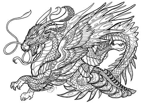 complex coloring pages of dragons 31 best kleurplaten draken images on pinterest