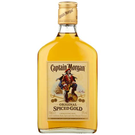 captain drink captain spiced gold rum 35cl spirits b m