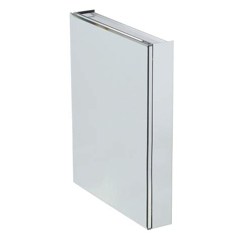 frameless mirrored medicine cabinet recessed pegasus 24 in w x 30 in h x 5 in d frameless recessed