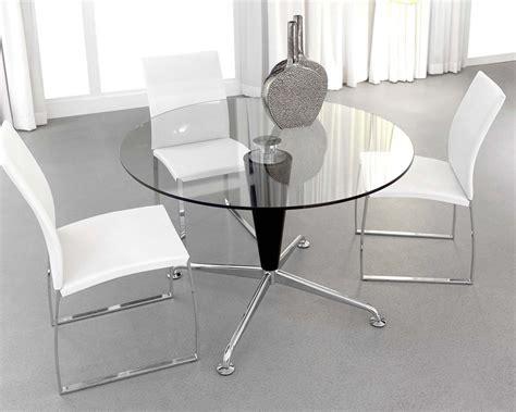 mesa comedor redonda cristal mesa cristal azzaro redonda electromuebles hermanos molina