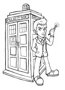 doctor who coloring book mayzyart freebies doo weeeeeee doo