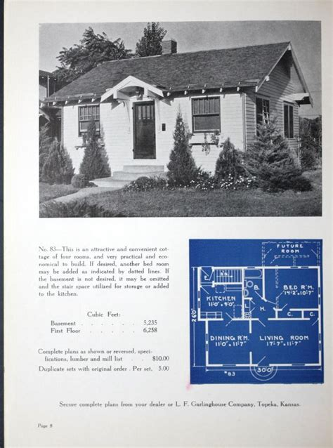 new small homes 1938 l f garlinghouse co free