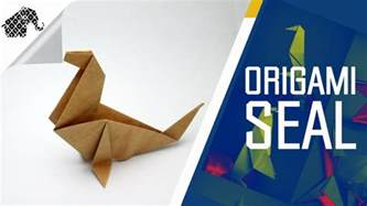 origami how to make an origami seal