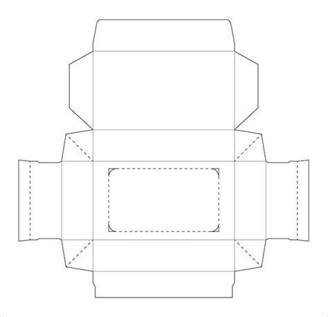 tissue box template  sample  format