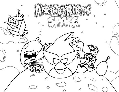 angry birds space coloring pages orange bird popular game angry birds space coloring pages batch coloring