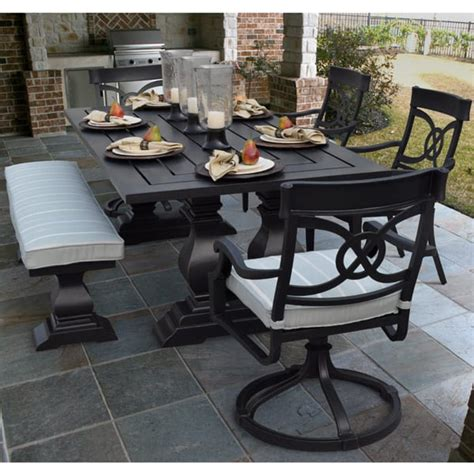 Veranda Classics Patio Furniture San Dimas Dining Collection By Foremost Veranda Classics