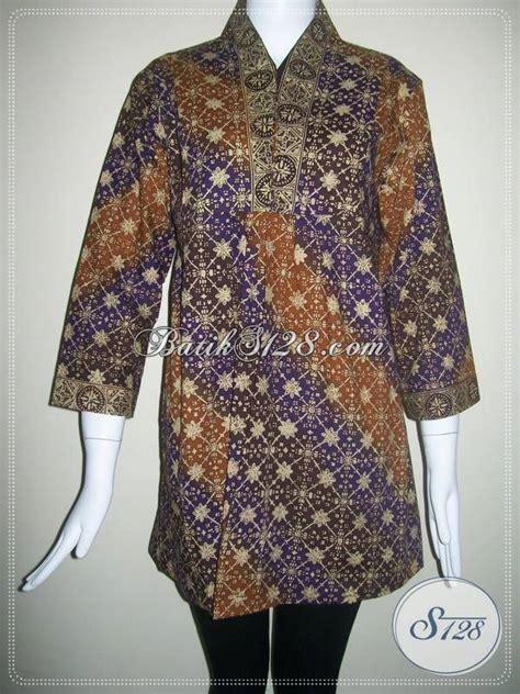 Batik Modis Keren Murah blus batik santai batik modis dan motif keren atau motif