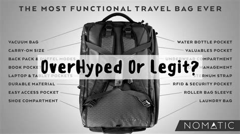 nomatic  travel bag review   year