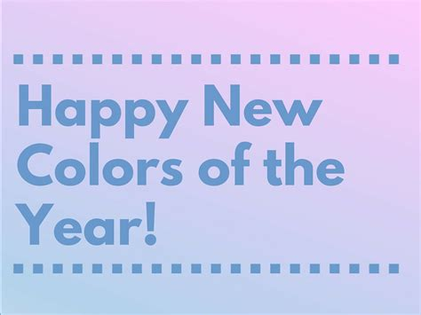 new year colors to avoid happy new colors of the year the coloring book club