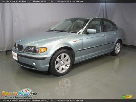 2005 bmw 325 xi 2005 bmw 3 series 325xi sedan gray green metallic grey