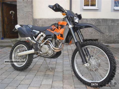 2002 Ktm 250 Exc Specs 2002 Ktm 250 Exc Racing 350cc Cylinder No 400 450 530