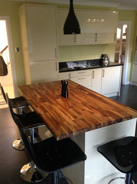 Lackieren Holzmaserung by Designing A Breakfast Bar With A Kitchen Worktop Worktop