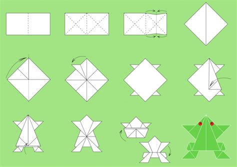 Origami Paper Folds - free coloring pages easy origami paper folding origami