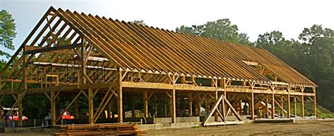 Small Post And Beam Homes pete newton timber frames