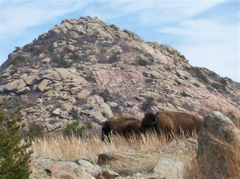 oklahoma hiking sunset peak wichita mountains wildlife