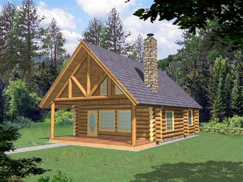 Small Log Cabin Plans Free