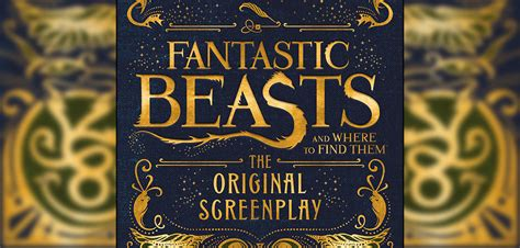finding in the beast books check out the fantastic beasts tie in books