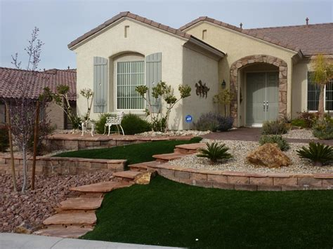 xeriscape water smart landscape las vegas from desert greenscapes water wise grass and