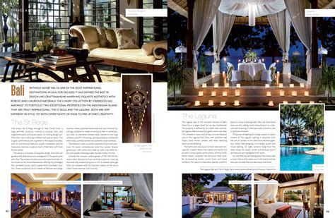 hotel magazine layout hotel inspired interiors and gardens andrew forbes