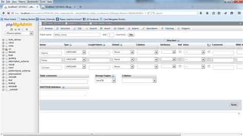 membuat database dengan mysql untuk website bagaimana cara membuat database dengan mysql xp
