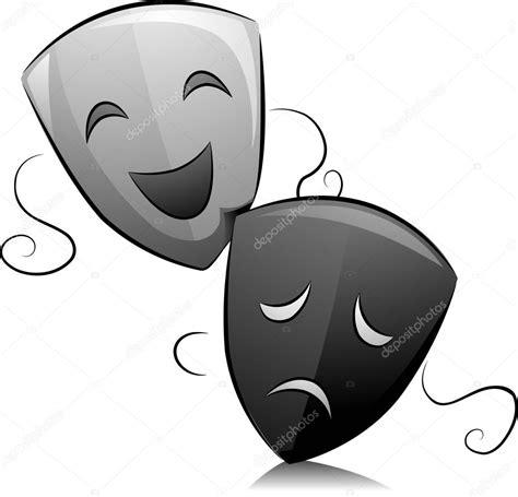 imagenes en blanco y negro de teatro m 225 scaras de teatro negro y blanco foto de stock 169 lenmdp
