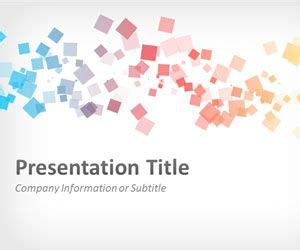 Free Abstract Squares Powerpoint Template Squares Powerpoint Template