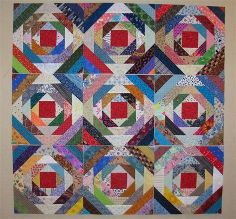 Pineapple Quilt Blocks by Pursuit Of Quilts Pineapple Blocks Using Gyleen