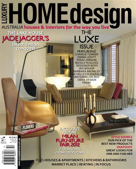 list of home design magazines top 100 interior design magazines that you should read