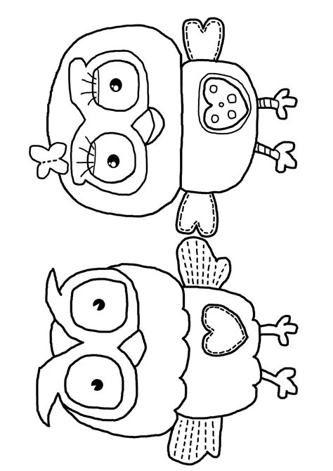 milk eyes giggle and hoot free colouring coloring page