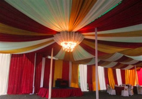 Mini Kinan Hitam Salur Putih tenda dekorasi balon ns tenda