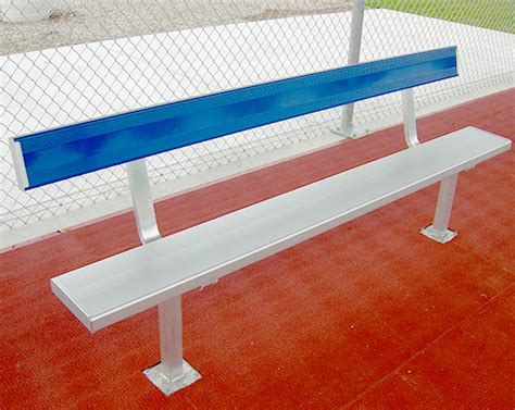 aluminum sport benches aluminum sports benches jw industries