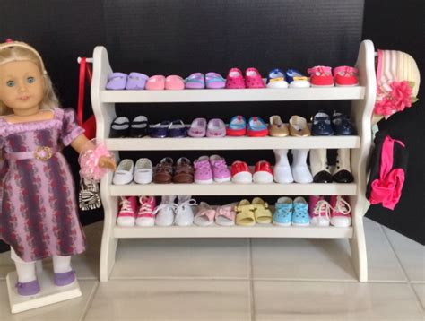 18 Inch Shoe Rack by American Doll 24 Shoe Rack For 18 American By