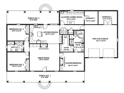 southern ranch house plans rock forest southern ranch home plan 028d 0046 house